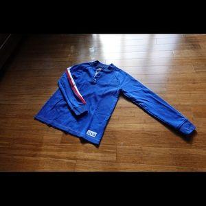 Tommy hilfiger blue long sleeve shirt men small